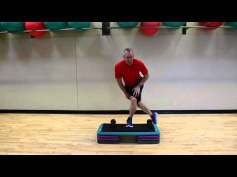 peter wimberg step exercises at The Cincinnati Sports Club
