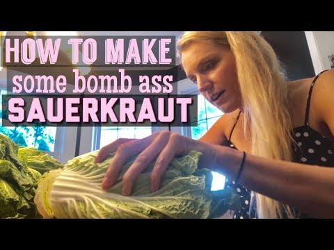 How to Make Sauerkraut - Meal Prepping Fermented Foods