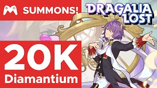 ~20k Diamantium vs Beautician Zardin & Takemikazuchi | Beauty in Motion Summons | Dragalia Lost