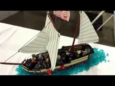 LEGO Continental Navy Sloop MOC