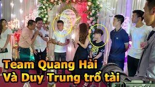 Thử Thách Bóng Đá ngày cưới Đỗ Hùng Dũng - Team Quang Hải Duy Mạnh Đoàn Văn Hậu ĐT Việt Nam trổ tài