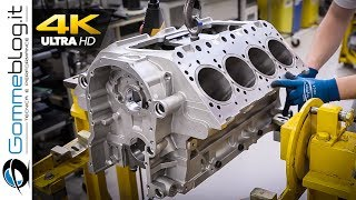 V8 ENGINE - Car Factory Production Assembly Line