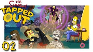TSTO - Simpsons - Springfield - Tapped out - Halloween 2018 #02 [Let's Play HD Deutsch]