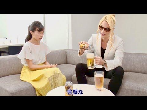 小島瑠璃子 のどごし生 CM スチル画像。CM動画を再生できます。