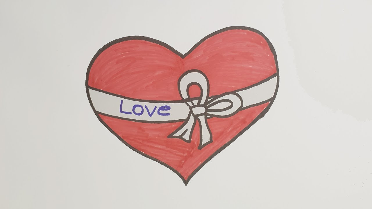 Love Drawings For Your Girlfriend   Easy Love Drawing ...