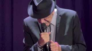 Leonard Cohen, Anyhow, Manchester, 31-08-2013