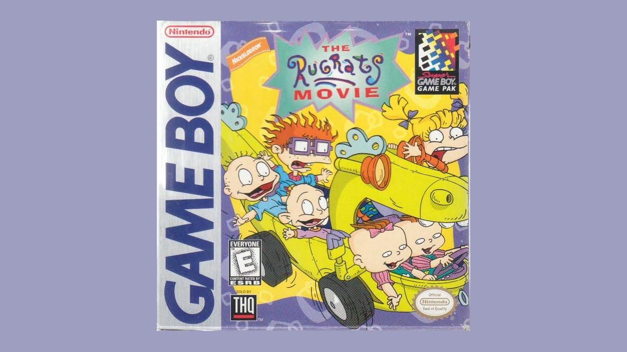 title screen the rugrats movie youtube