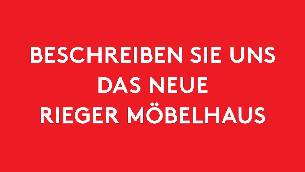 Das Neue Rieger Erlebnis Möbelhaus In Heilbronn Youtube
