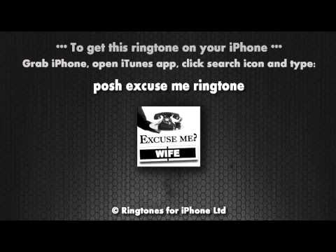 Excuse Me Your Wife iPhone Ringtone
