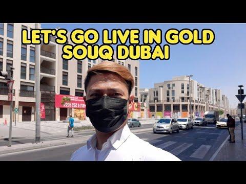 Lets Go Live In Gold Souq Dubai