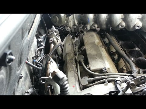 Rear spark plug replacement - 2004 Hyundai Santa Fe 35L - YouTube