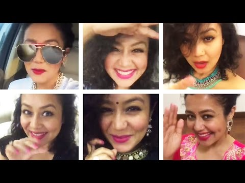 Neha Kakkar || Best Bollywood Selfie Mashup || Sunny Sunny, Aao Raja & More