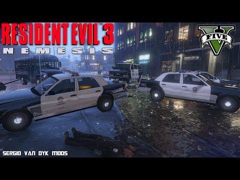 RESIDENT EVIL 3 INTRO - GTA V