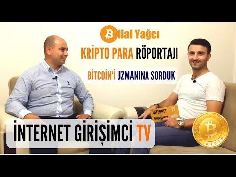 İnternet Girişimci TV de Kripto Para, Bitcoin ve Blockchain Roportajı | Bilal Yağcı