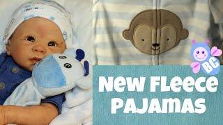 New Fleece PJs for my Reborn Babies | Walmart Shopping Haul | All Under $10 Each | Buterfly Cuties