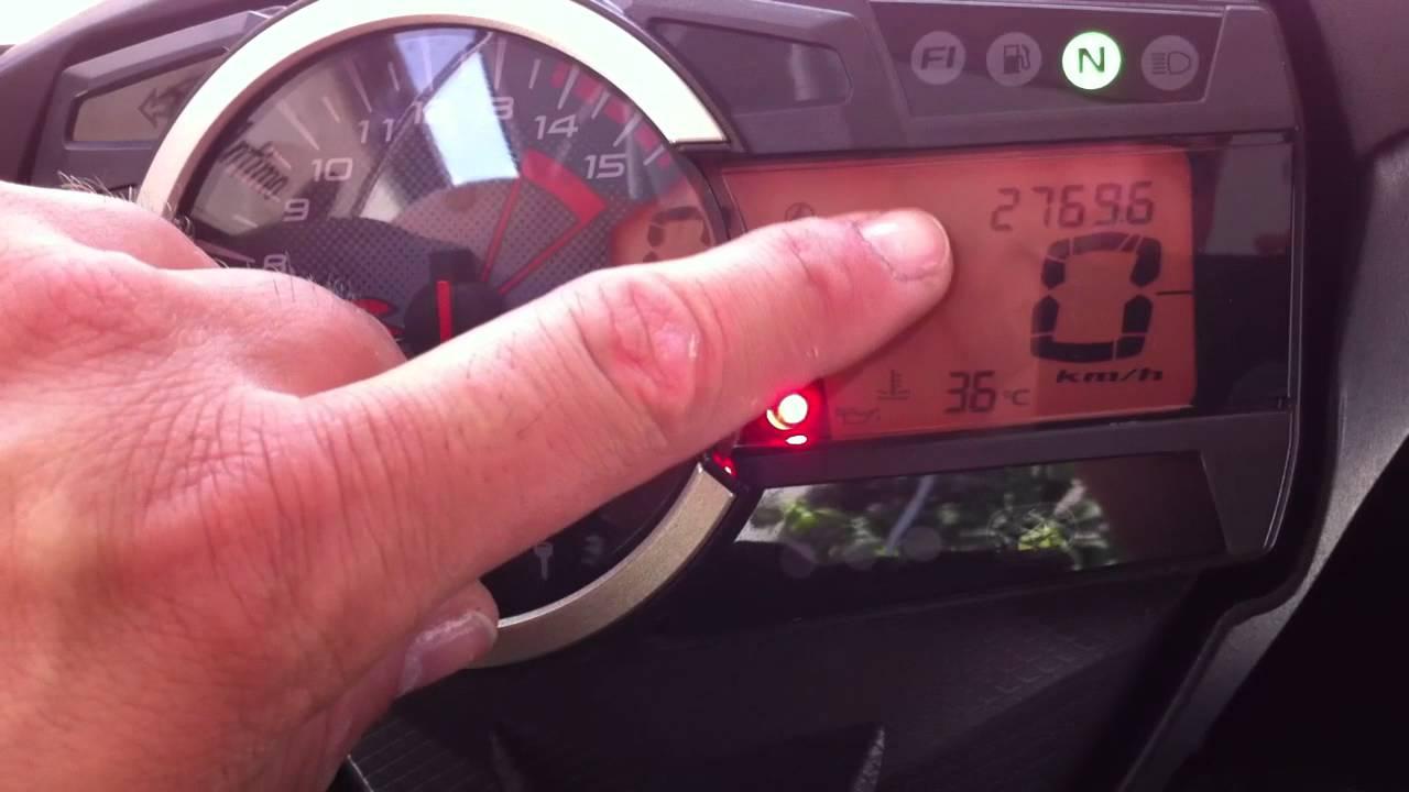 Suzuki Gsx-r 1000 anno 2011 errore F1 C46 seconda prova