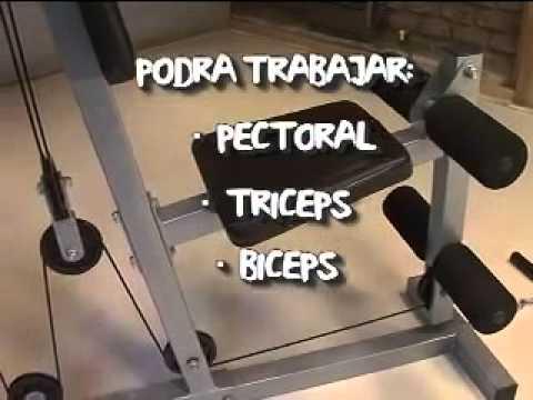 Rutina de ejercicios en maquina multifuncional pdf