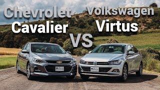 Chevrolet Cavalier vs Volkswagen Virtus - Te decimos cuál elegir | Autocosmos Video