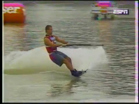 Jeff Heer 1995 Pro Wakeboard Tour - High Point, NC