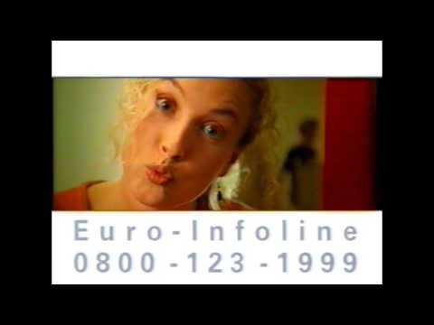 Deutsche Bank Der Euro kommt - Alte Fernseh-Werbung