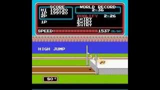 任天堂電玩完美破關紀錄(10) 田徑運動