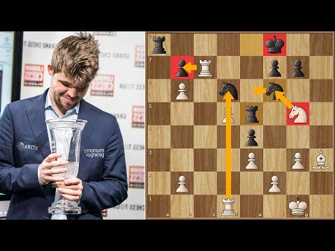 Sick for the Last 4 games, Magnus Carlsen Wins The Grand Chess Tour 2017! | LCC Round 9