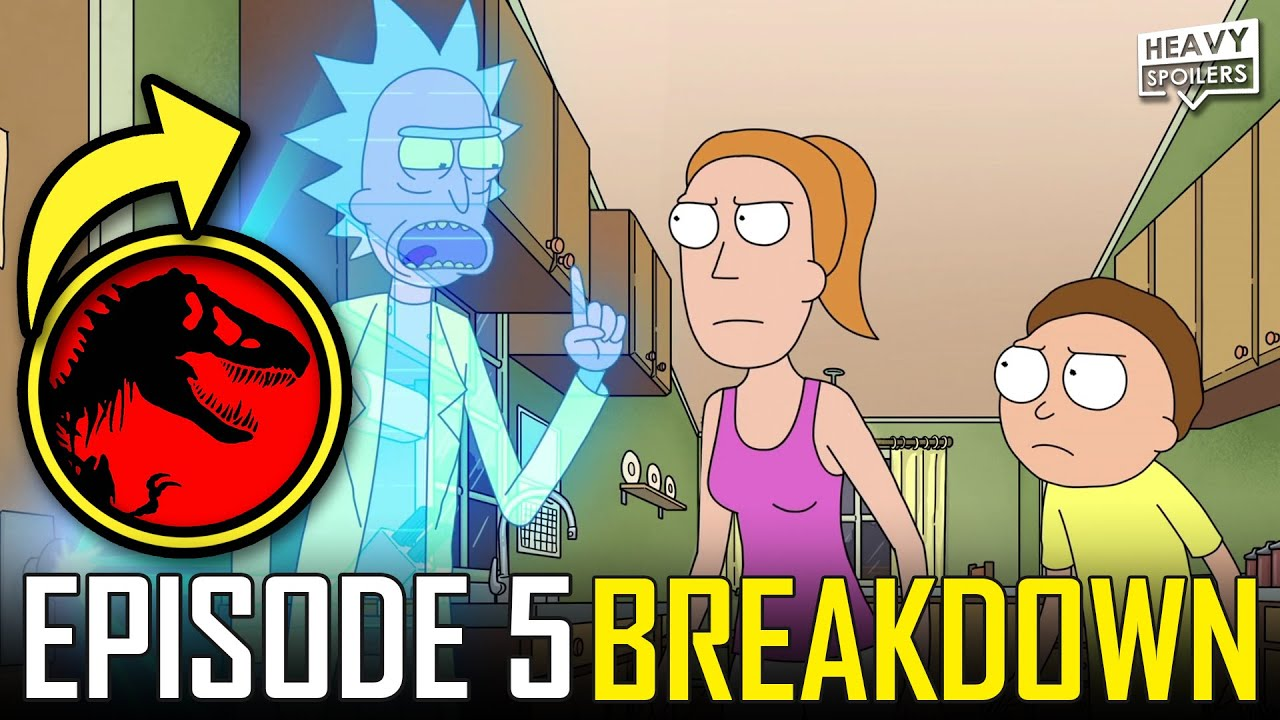 Rick And Morty Season 5 Episode 5 Breakdown Easter Eggs Things You Missed And Ending Explained Youtube