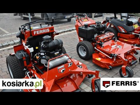 Kosiarki traktory zero-turn FERRIS dealer PROSAT - pokaz maszyn