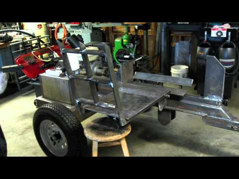 Log Splitter Build 3 Minutes Video Youtube