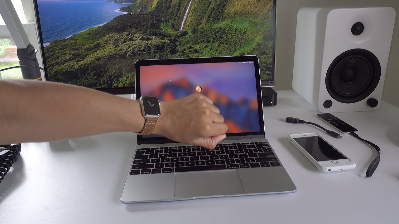 apple sierra watch hands on unlocked macos watches youtube with unlock auto