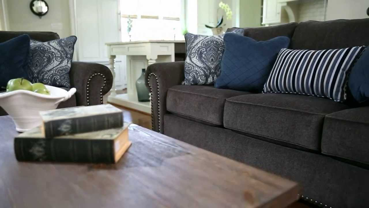 Ashley Furniture Homestore Navasota Sofa Youtube