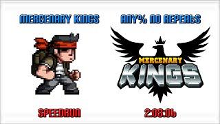 Mercenary Kings Any% No Repeats 2:08:06 (WR)