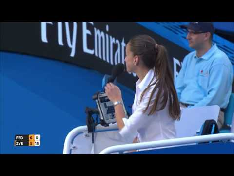 Roger Federer advise Sascha Zverev to challenge fault in service call