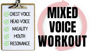 Mixed Voice Workout for Guys - 9 Exercises