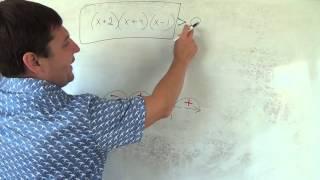 Алгебра 9 класс. 2 октября. неравенства метод интервалов #2