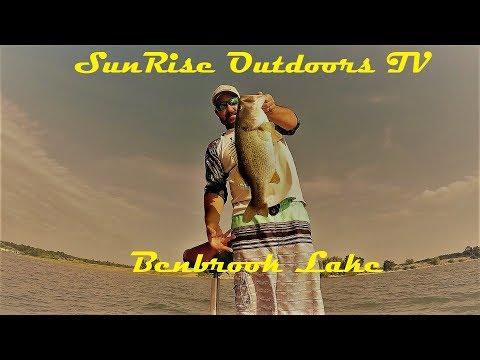 Bass Fishing Benbrook Lake 2018