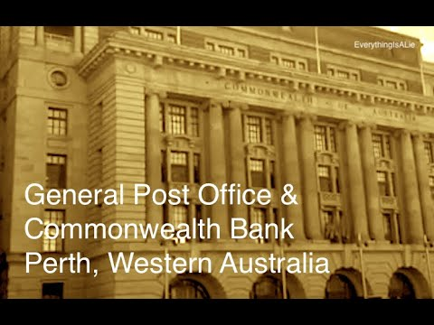 General Post Office & Commonwealth Bank, Perth WA