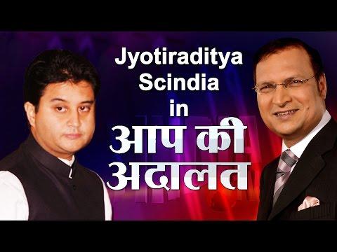 Jyotiraditya Madhavrao Scindia In Aap Ki Adalat (Full Episode) | India TV