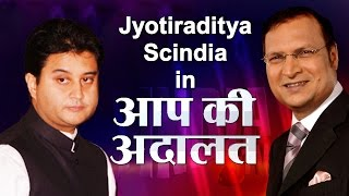 Jyotiraditya Madhavrao Scindia In Aap Ki Adalat (Full Episode) | India TV