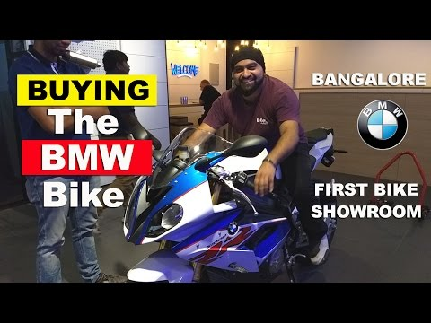 Buying the BMW Bike in Bangalore - First Showroom in Bangalo