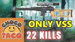 PUBG - TSM ChocoTaco - 22 KILLS - ONLY VSS! #SOLO