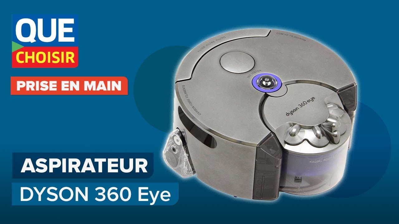 aspirateur robot connect dyson 360 eye prise en main youtube. Black Bedroom Furniture Sets. Home Design Ideas