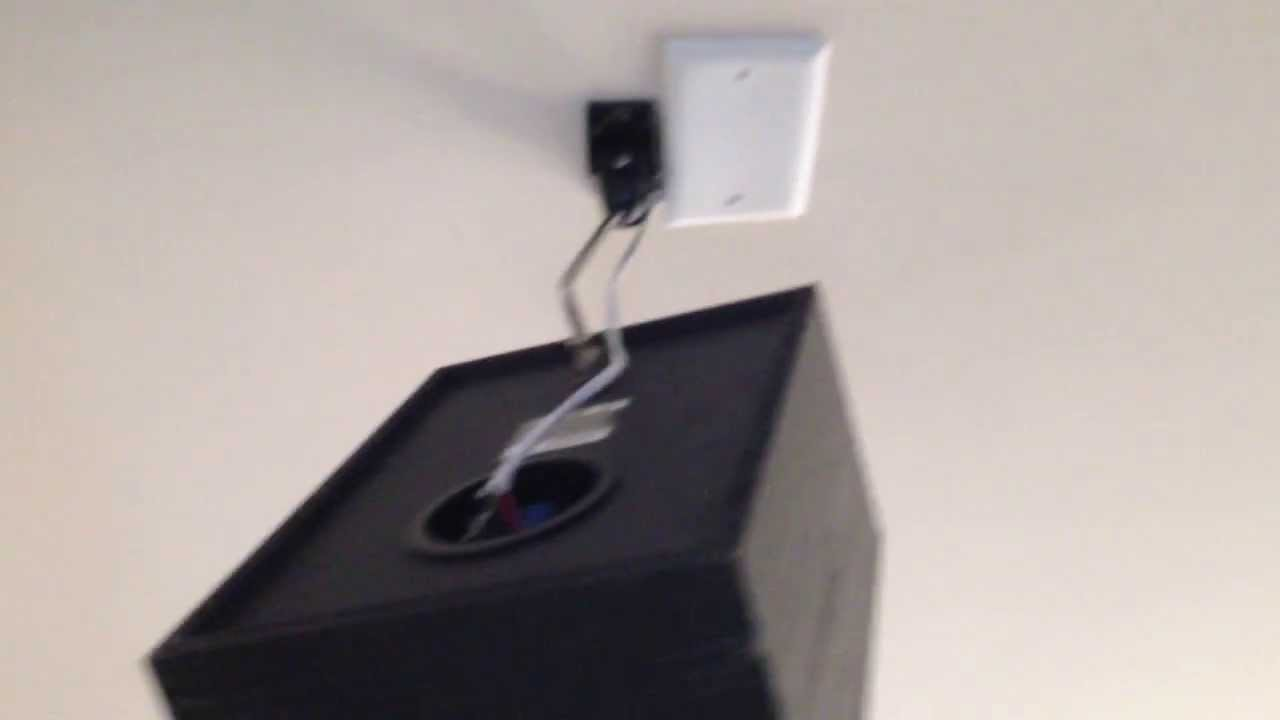 wall/ ceiling speaker mounting. heavy ones too!!! - youtube