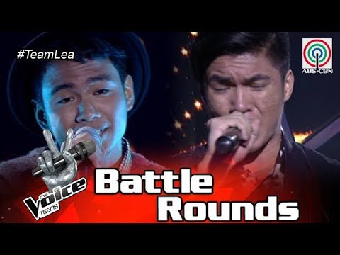 The Voice Teens Philippines Battle Round: Julian vs. Patrick - Treat You Better