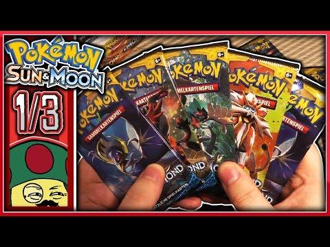 Ich öffne ein Pokémon Sonne & Mond Display - #1/3