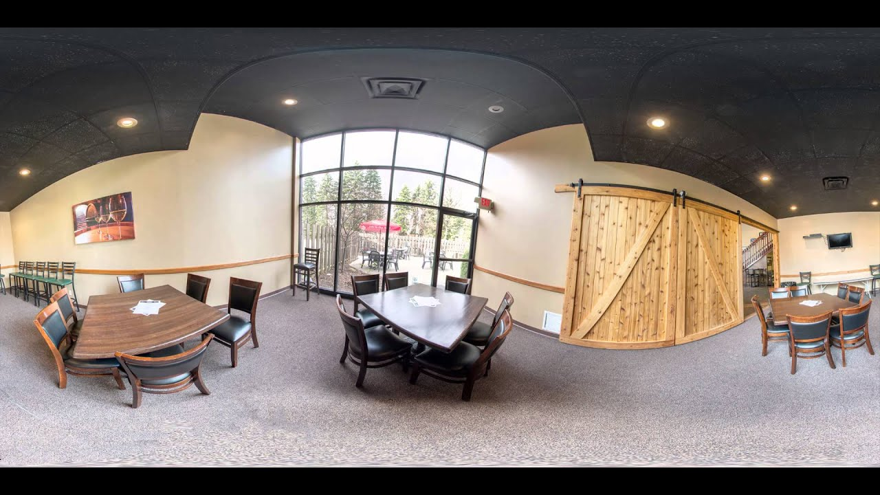 360 Virtual Tour Slideshow of The Barrel Room - YouTube