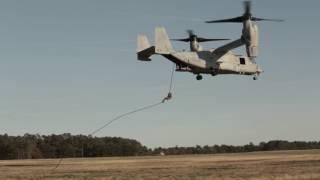 Bell Boeing V-22 Osprey Fast-Rope Exercise VMM 263