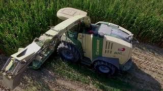 KRONE BIGX 1100 + JOHN DEERE + FIAT AGRI 180-90   INSILATO 2017   Miraglia
