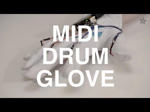 MIDI Drum Glove