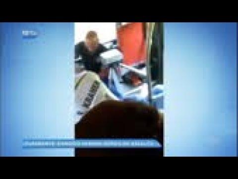 Ladrão tenta assaltar passageiros e apanha em ônibus